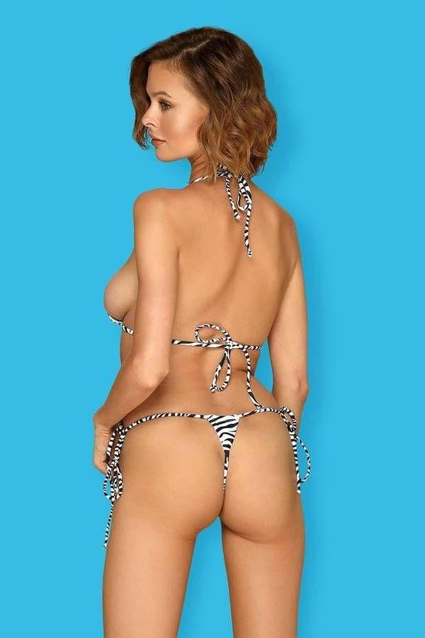 SWIMSUIT BIKINI STRING SEXY ZEBRA SPAOB20680