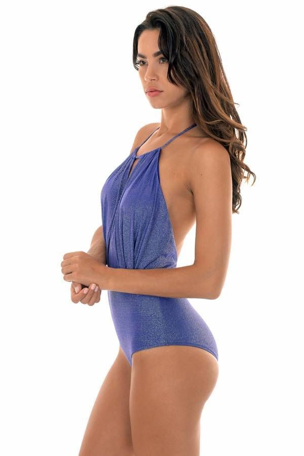 ONE PIECE SWIMSUIT BLAZILIAN SEXY LUREX BLUE BR21810984571