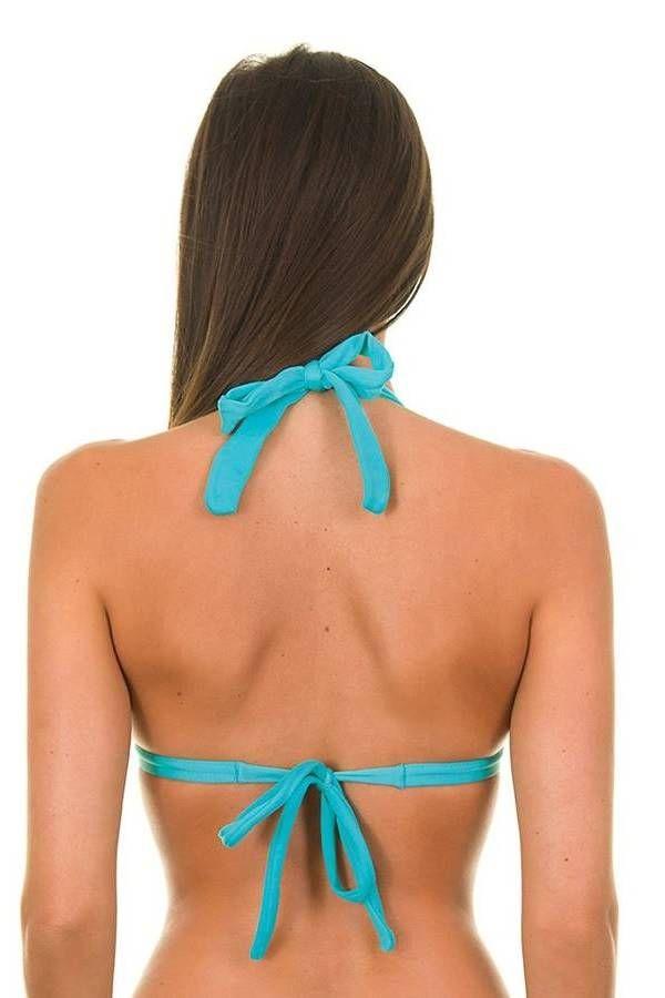 BRA SWIMSUIT TOP PADDING BLUE BR2181093696