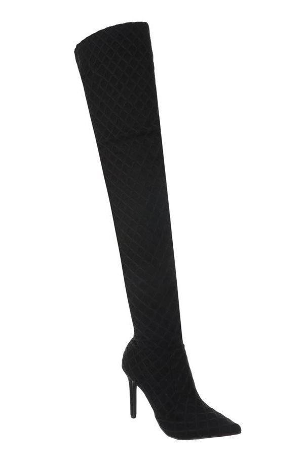 FSW01711 BOOTS OVERKNEE BLACK