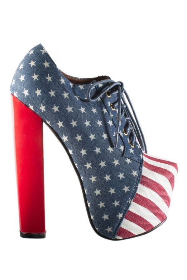 ANKLE BOOTS FLAG MULTICOLOR SP1700