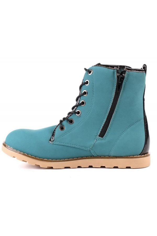 ANKLE BOOTS SPORT TRACTORATED BLUE SW1333