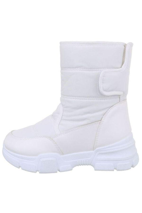 μποτάκια χιόνια γούνα εσωτερικά άσπρα.