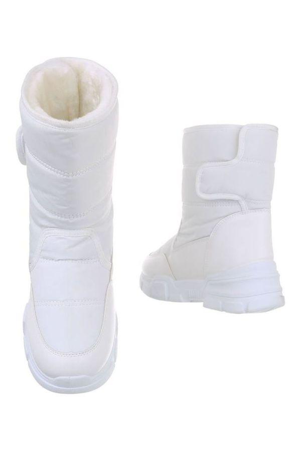 AKLE BOOTS SNOW FUR INSIDE WHITE FSW19621