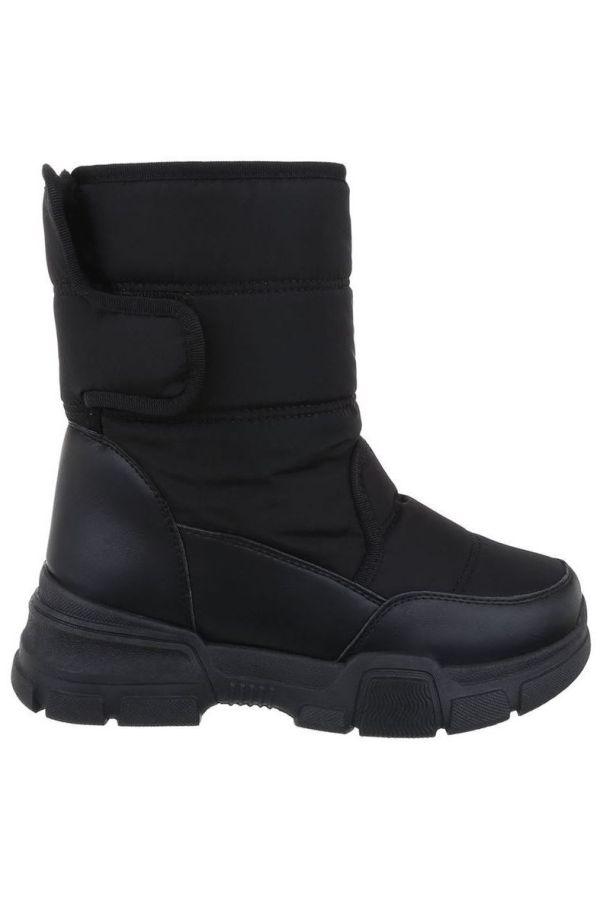 AKLE BOOTS SNOW FUR INSIDE BLACK FSW19621