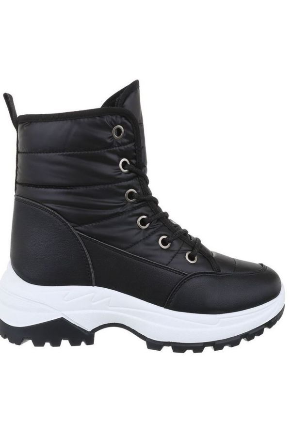 AKLE BOOTS SNOW FUR INSIDE BLACK FSW19631