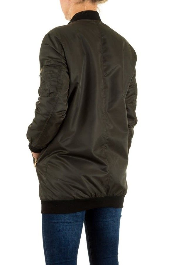 JACKET LONG ZIP KHAKI FSWS9021