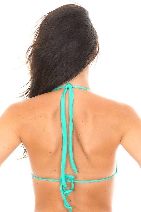 brazilian bikini swimsuit sexy turquoise.