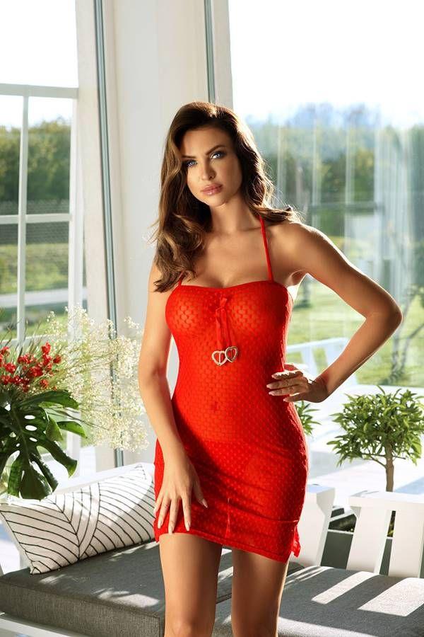 Nigh Dress Decoration Red GTOF5112I