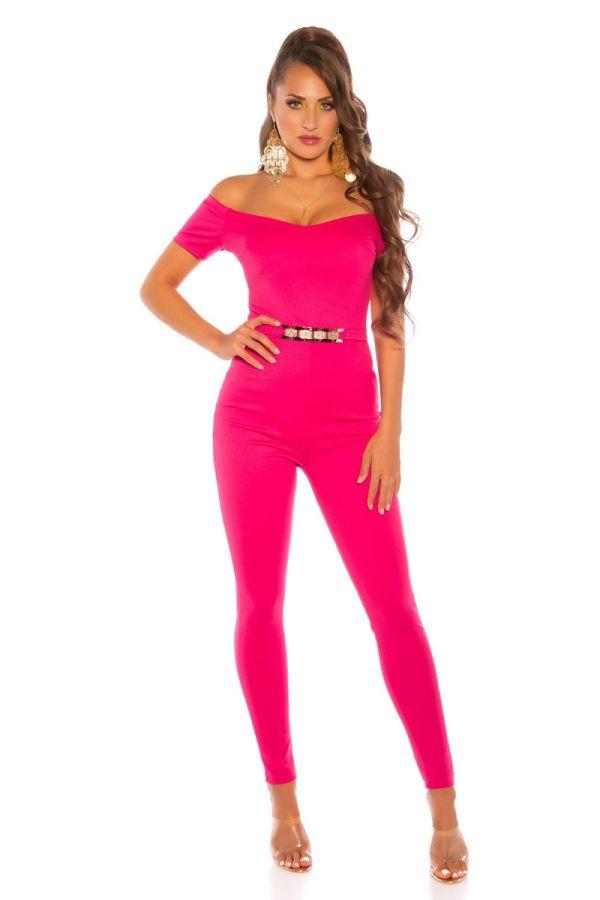 Jumpsuit Evening Fashionista Pink ISDV201332