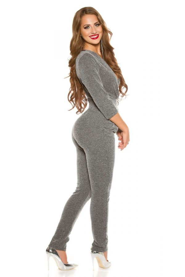 JUMPSUIT EVENING GREY ISDV62241