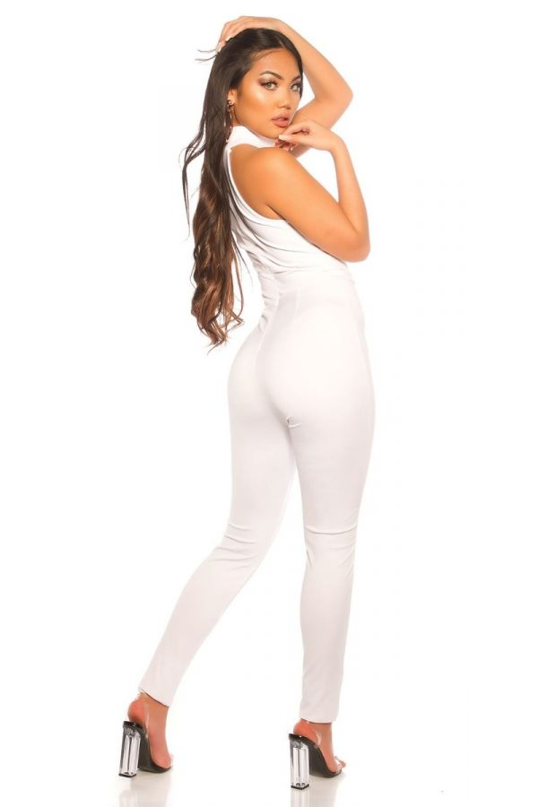 JUMPSUIT SLEEVELESS WHITE ISDV1941616