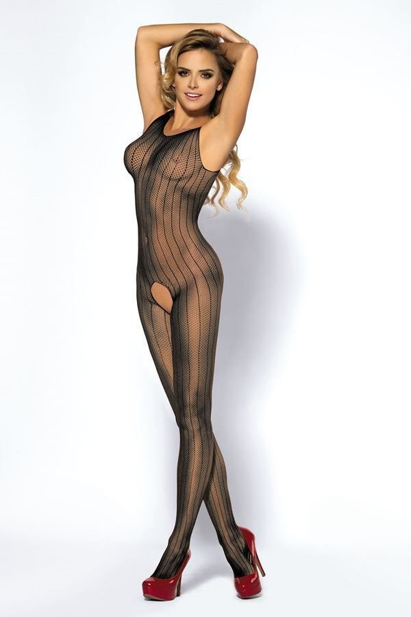 BODYSTOCKING NET SEXY BLACK ANJOY