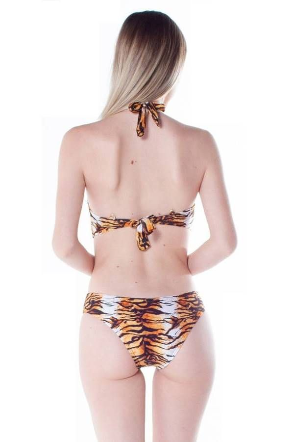 ONE PIECE BRAZILIAN SWIMSUIT ANIMAL PRINT TIGRE BR2181110940