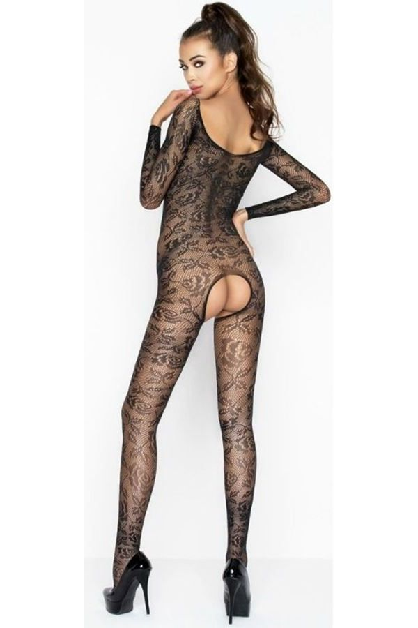 BODYSTOCKING NET BLACK DRE216397