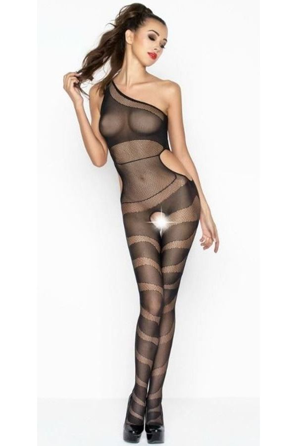 BODYSTOCKING NET BLACK DRE216429