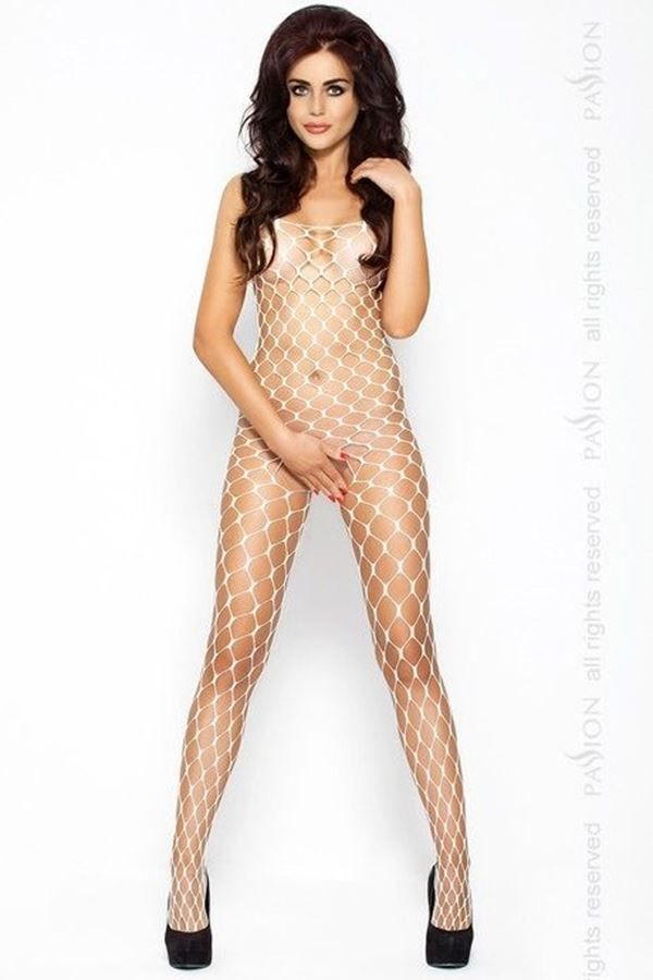 BODYSTOCKING NET WHITE DRE202716