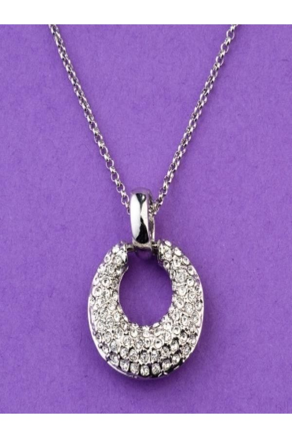 P2011 JEWEL COLLIER SILVER