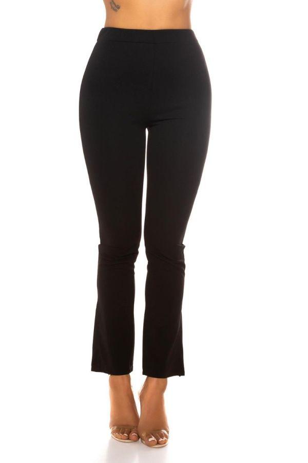 highwaist pants wide legs black.