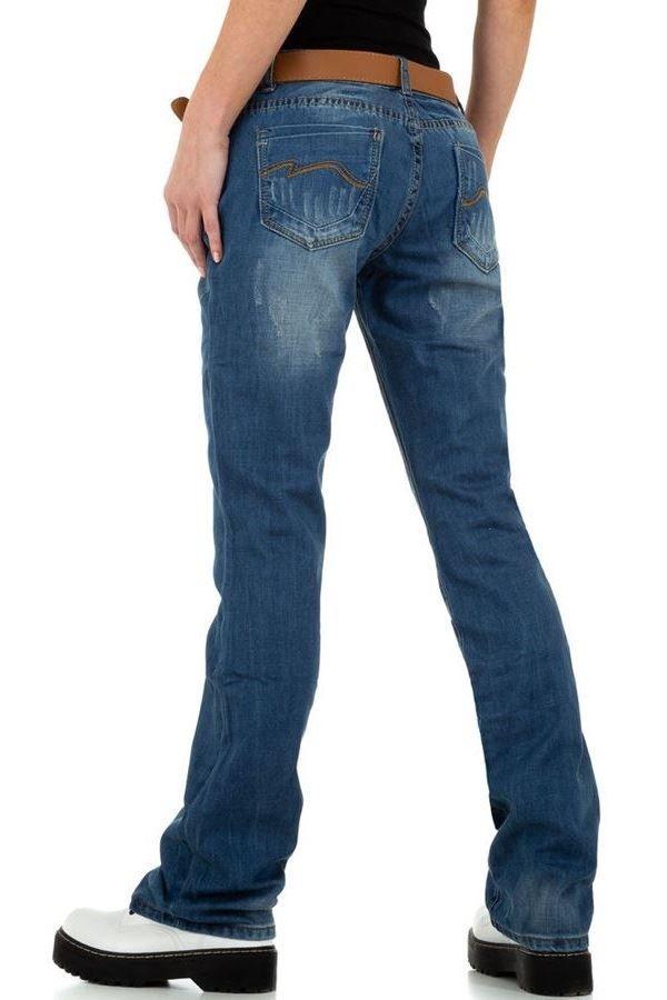 JEAN PANTS WIDE LEGS BLUE FSWDI0011