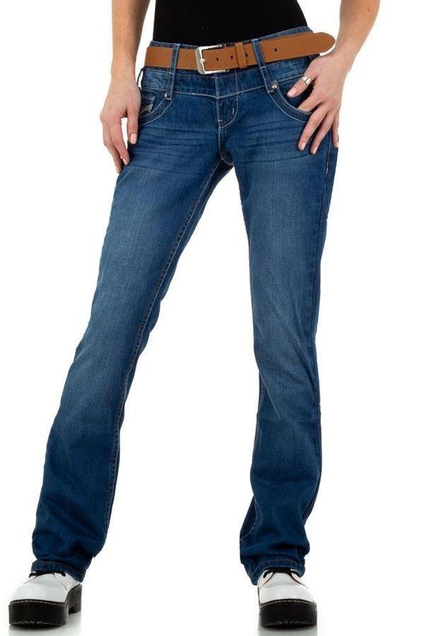 JEAN PANTS WIDE LEGS BLUE FSWDI0041
