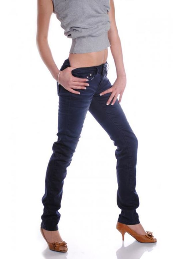 pants jean blue.