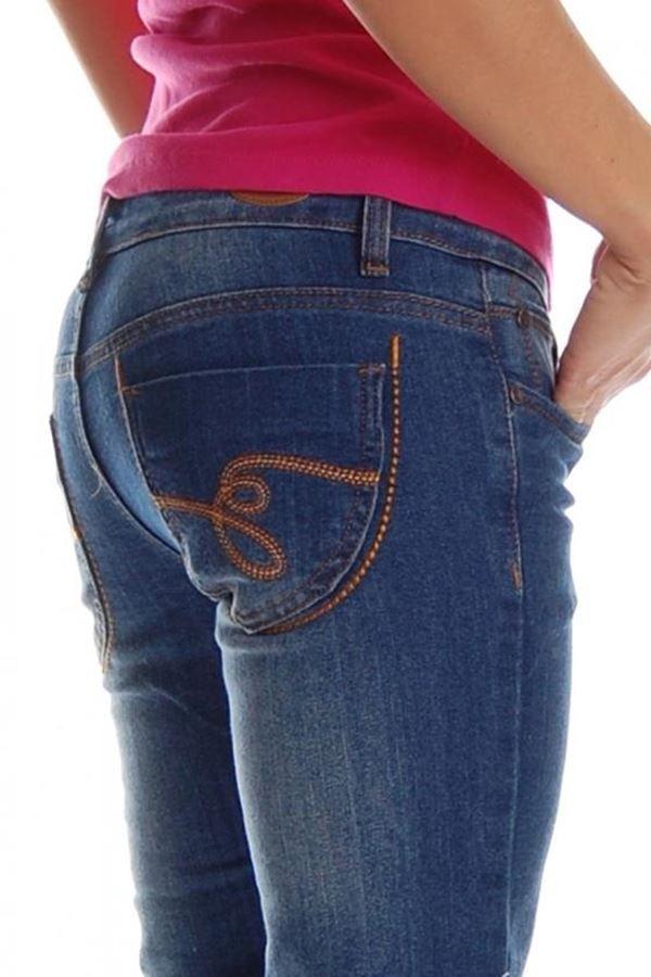 παντελόνι τζιν μπλε κλασσικό