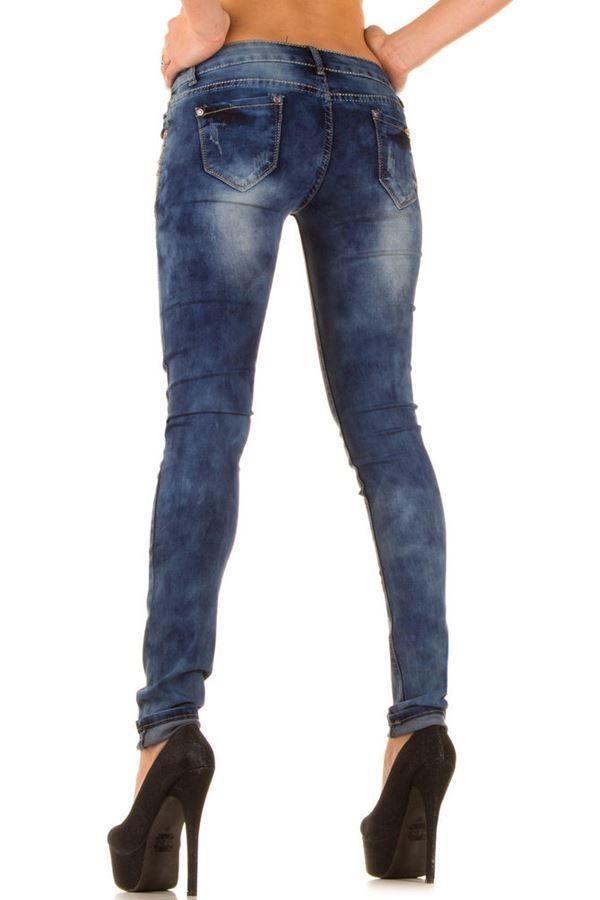 pants jean skinny strass blue.