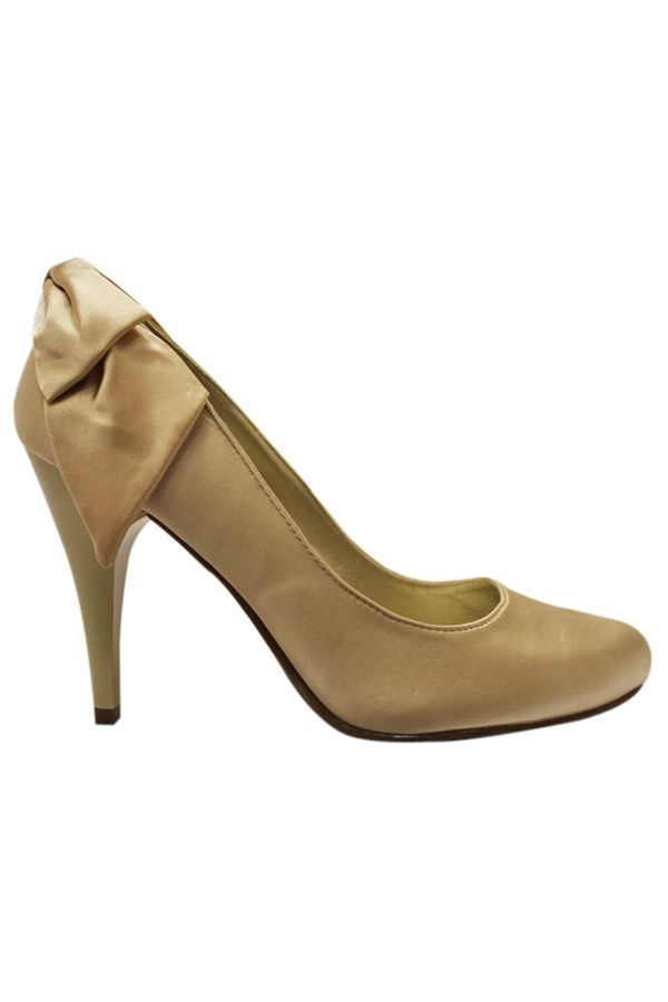 PH039 PUMP SATIN GOLD