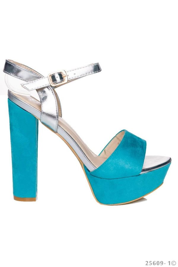 QQ1725609 SANDAL TURQUOISE SILVER