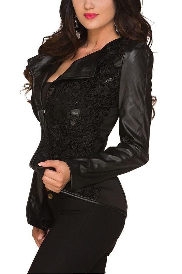 blazer lace black.