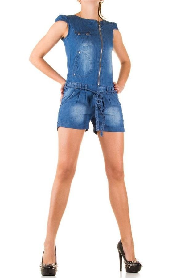 SWE813  DUNGAREES JEAN BLUE