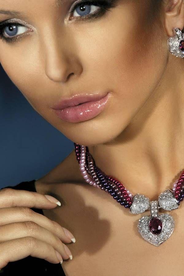 Σετ Κοσμήματα Κολιέ Μαργαριτάρια Σκουλαρίκια Πολύχρωμο GTOI162680