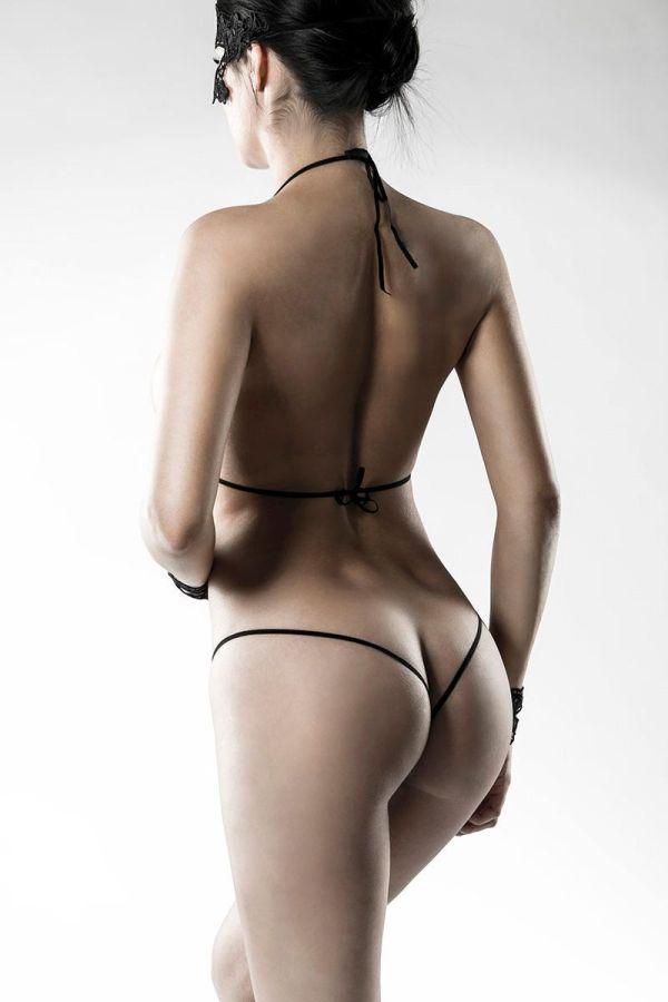 LINGERIE SET SEXY LACE BLACK DAT2014489