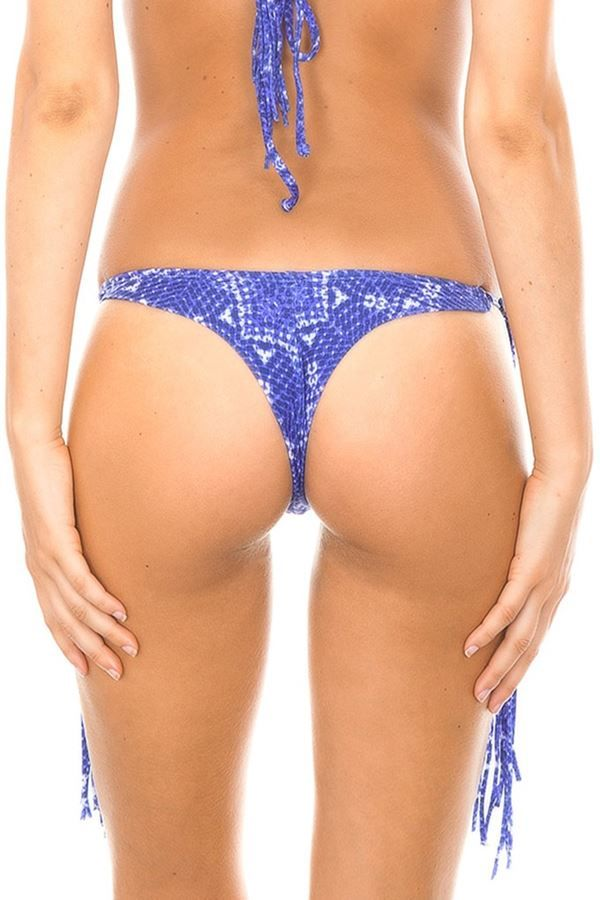 THONG SWIMWEAR BOTTOM DESIGN MULTICOLOR BLUE BR19810958522