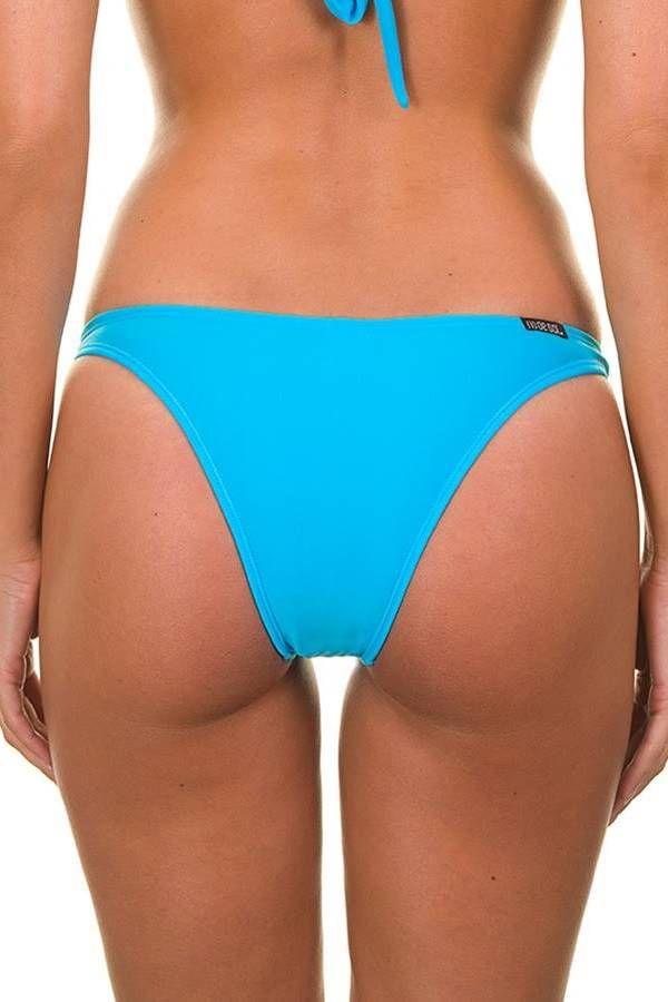 brazilian μαγιό κάτω σλιπ διακόσμηση μπλε.