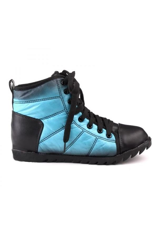 SP1269 SNEAKER BLACK BLUE