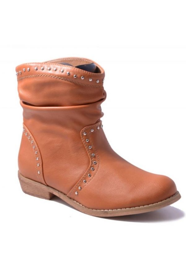 SP139 ANKLE BOOT CAMEL