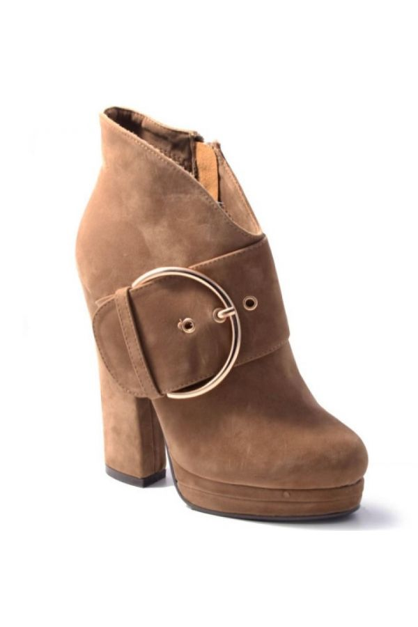 SP2258 ANKLE BOOT SUEDE BEIGE