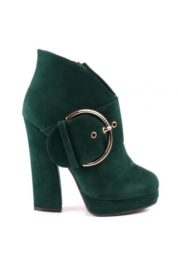 SP2258 ANKLE BOOT SUEDE GREEN