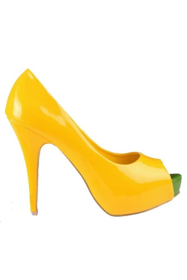 SP4562 PEEP TOES YELLOW