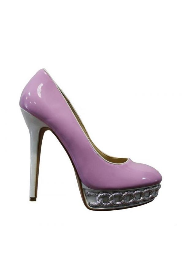 SP70650 PUMP PATENT LILAC WHITE