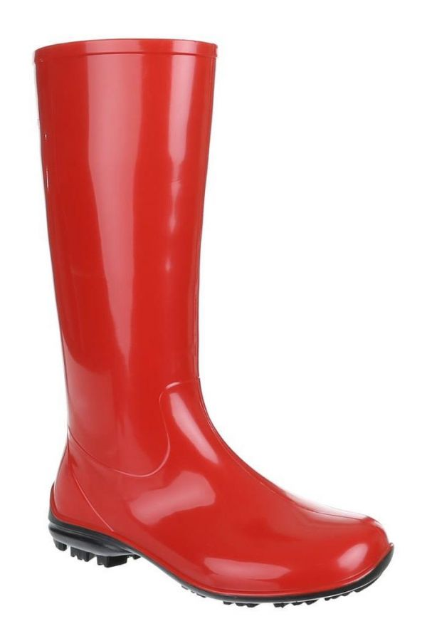 SW100P11 WELLIES BOOT RED