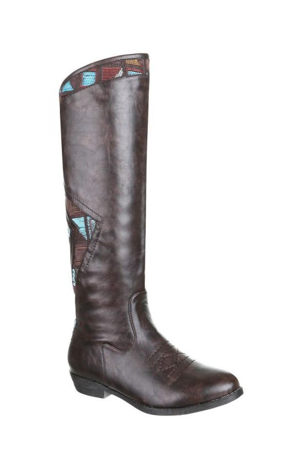 SW15M32 BOOT RIDING BROWN