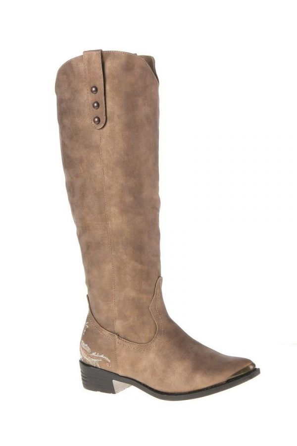 SW16911 BOOT COWBOYS BEIGE