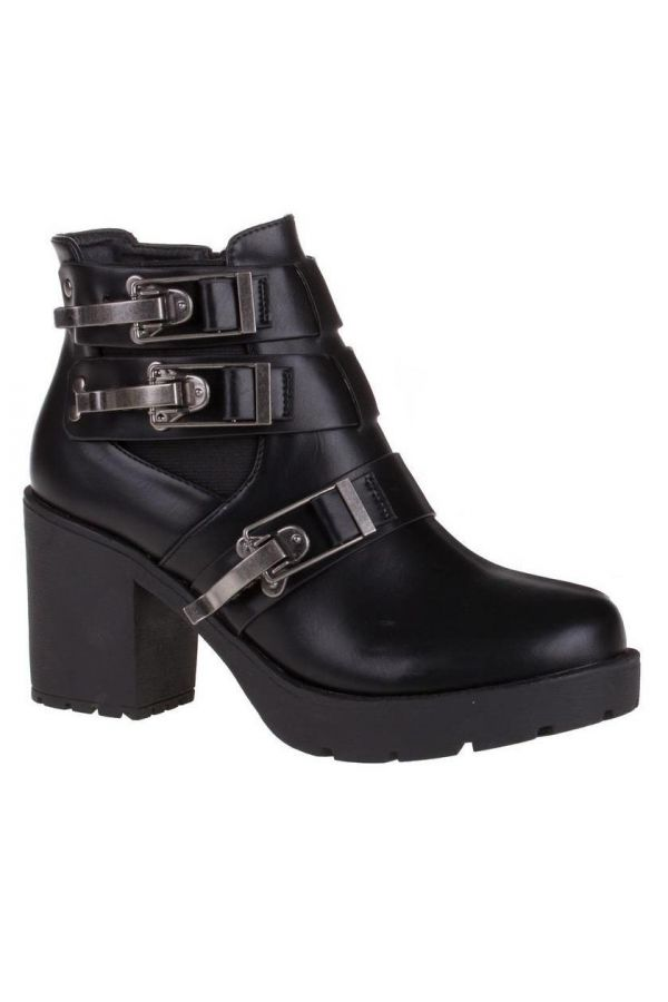 SW3380 ANKLE BOOT BLACK