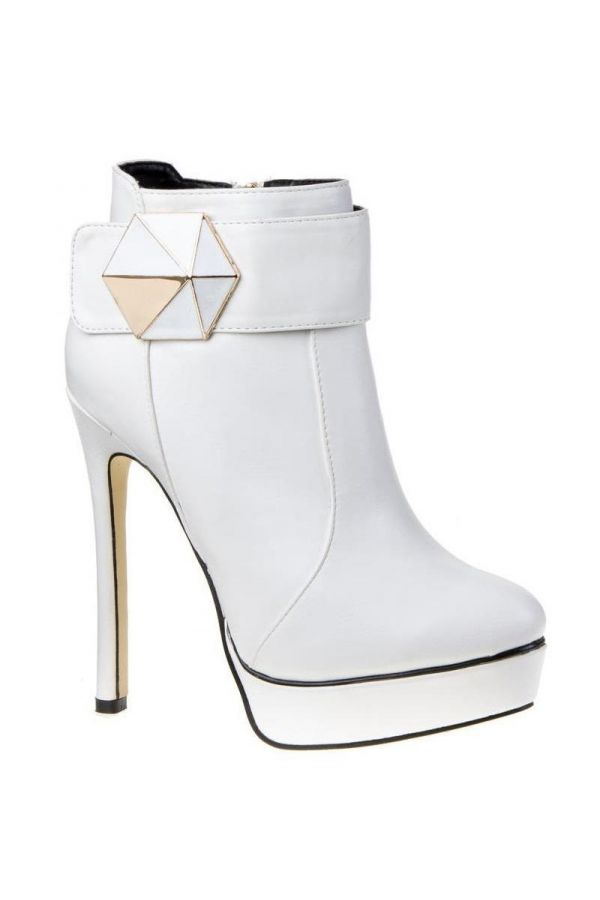 SW3709 ANKLE BOOT WHITE