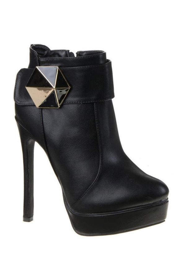 SW3709 ANKLE BOOT BLACK