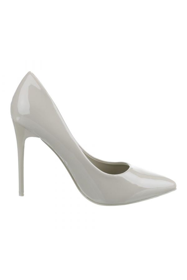 SW501512 PUMP POINTED PATENT BEIGE