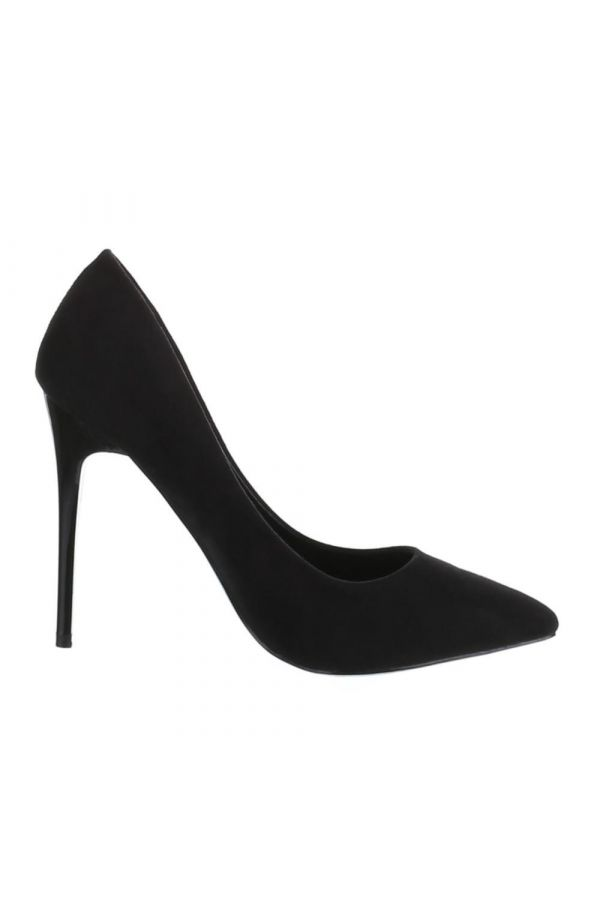 SW501513 PUMP POINTED SUEDE BLACK
